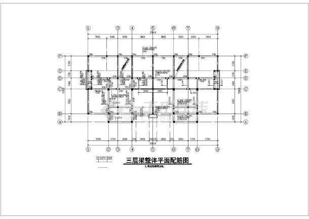 某市农村三层住宅楼建筑设计通用图纸一