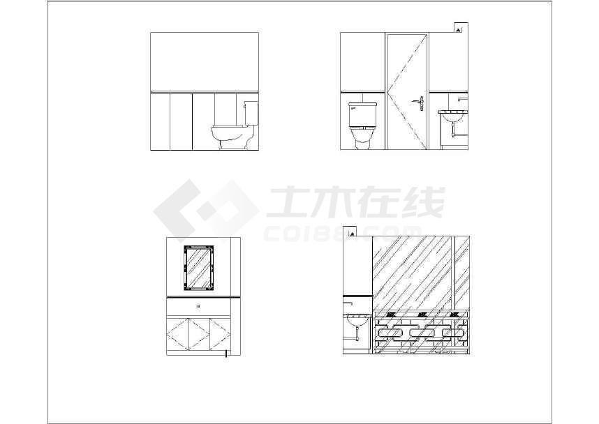 施工图目录,设计总说明,精装修材料做法表原始结构图,平面布置图,隔墙