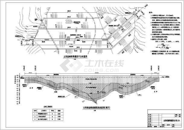 溢洪道加固工程设计图(共24张)