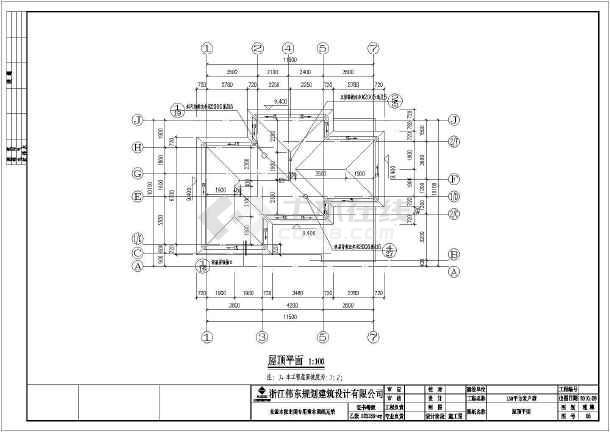 某3层独栋别墅建筑,结构,水电全套施工图
