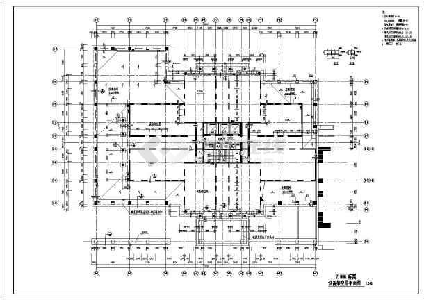 本图纸为【深圳】二十八层商住楼建筑施工图,图纸内容包括:设计图片