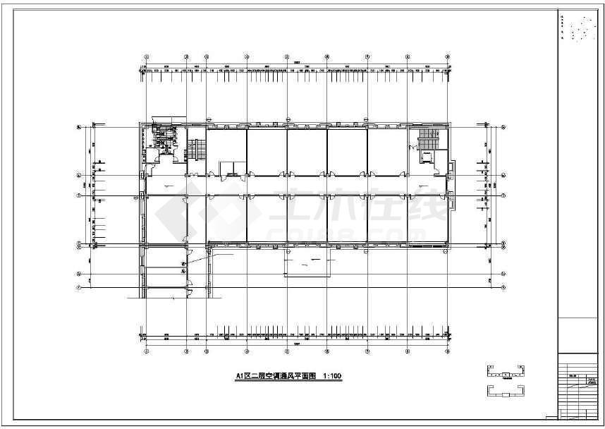 校暖通空调设计施工图
