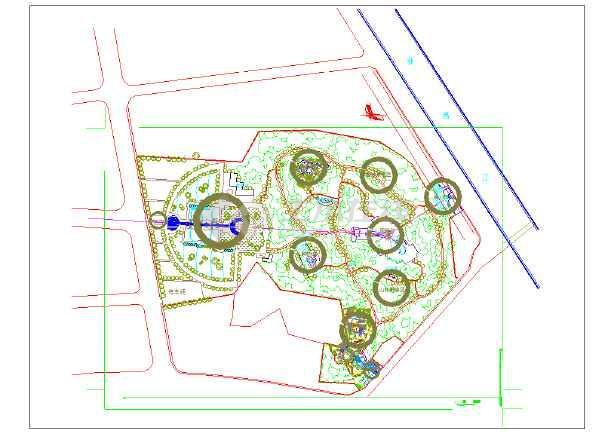【福州】某公园园林景观规划设计方案
