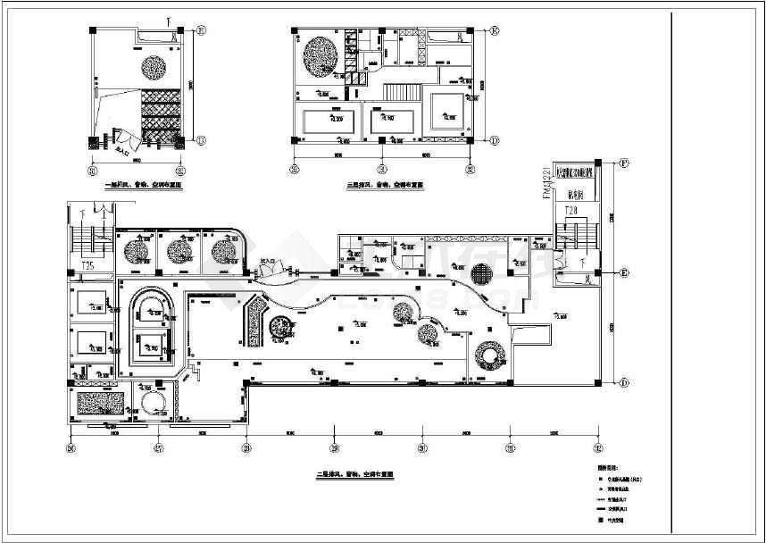 某地方案咖啡厅内部绑定CAD图纸两岸cad外部插入的区别参照和装修图片