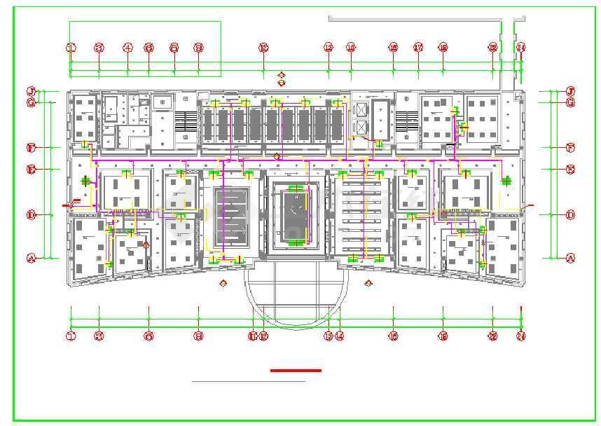 空调系统设计施工图