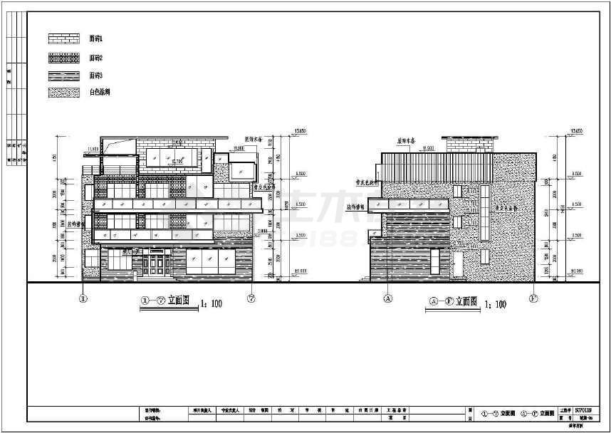 70米农村自建房建筑结构图