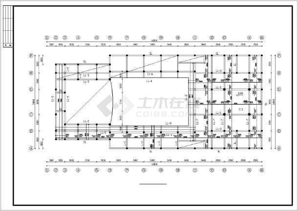 祠堂建筑施工设计图