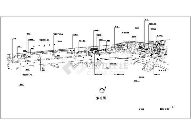 新通扬运河河滨公园全套景观设计施工图纸