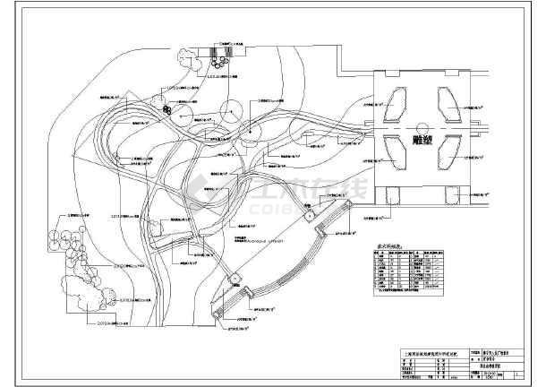 【黄石】人民广场园林景观规划设计全套施工图图片