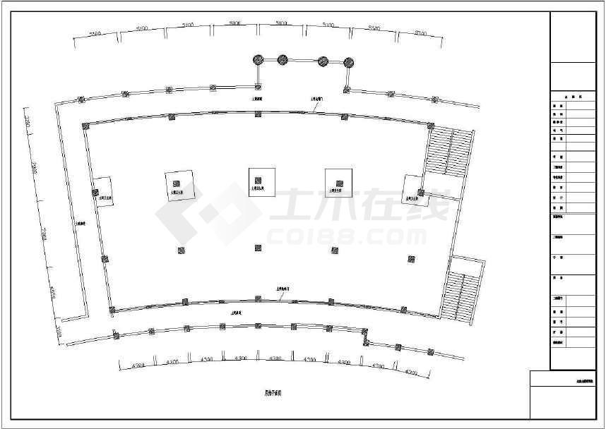 某地星巴克咖啡厅装修方案cad图纸cad模型三维导图片