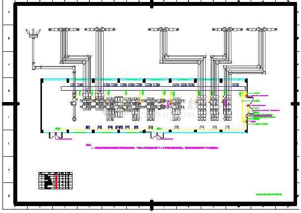 质保图纸 建筑电气设计施工图 电力设计 其他 sf6泄漏监控报警系统二