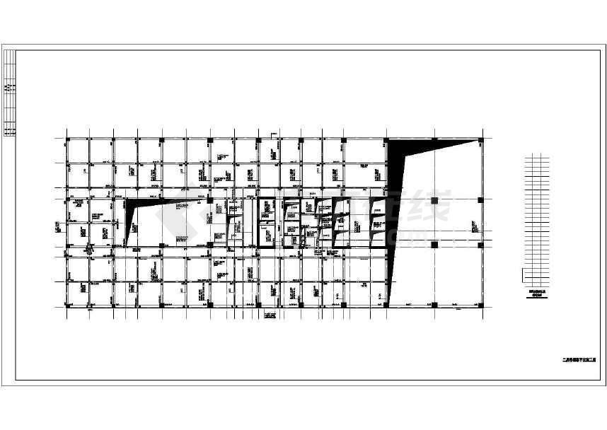 某25层框架核心筒住宅楼结构设计施工图