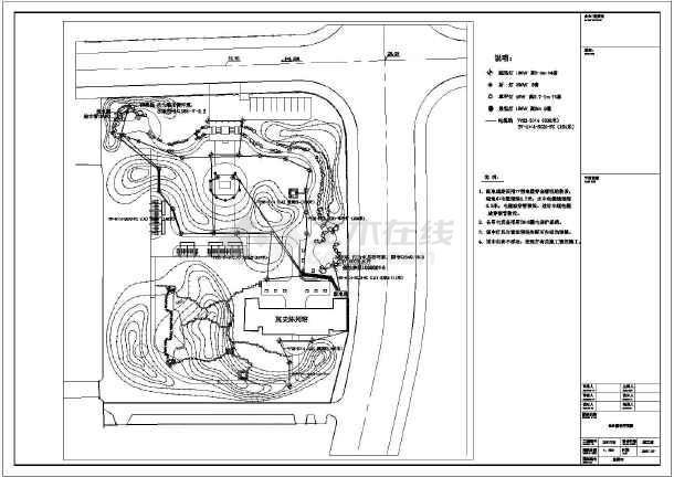 某小公园园林景观规划设计施工图纸