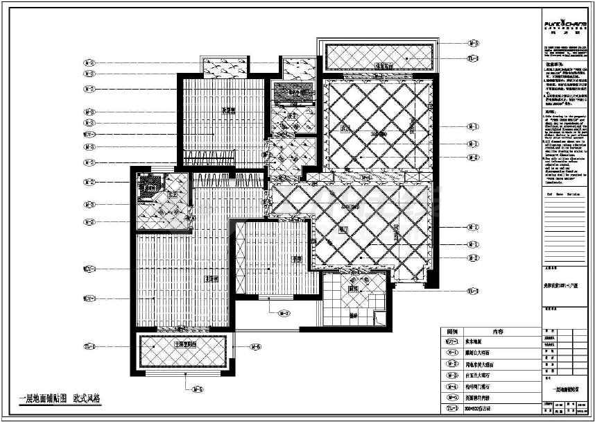 客厅立面图,客厅及休闲阳台立面图