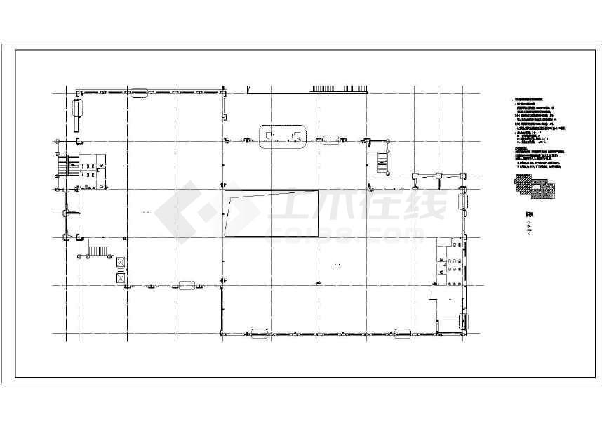 【重庆】某商业广场五层欧式沿街商业建筑扩初图(4号楼)