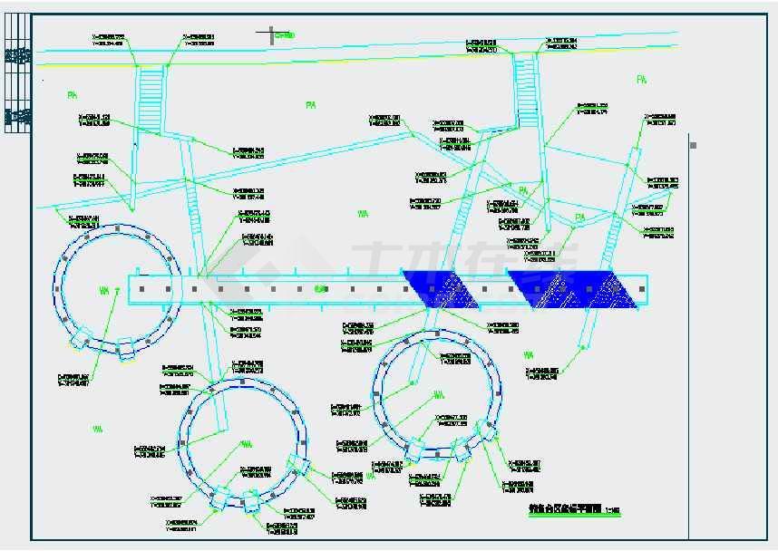 园景观规划设计施工图下载 土木在线