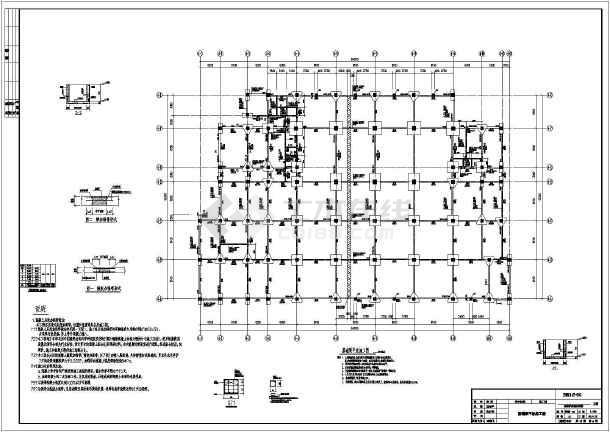 图纸包括:结构设计说明,梁板柱图,楼梯图等共计18张图.