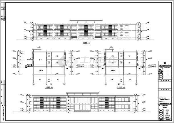 某2层框架结构园林公司建筑图片