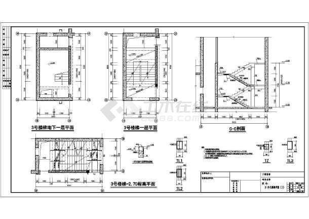 【武汉】52及54层b级高度超高层住宅楼结构施工图