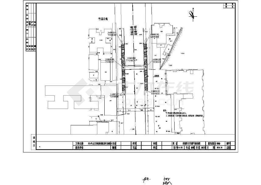 25米上部钢箱梁下部钢结构桥墩人行天桥设计2008版cad调黑怎么显示图片
