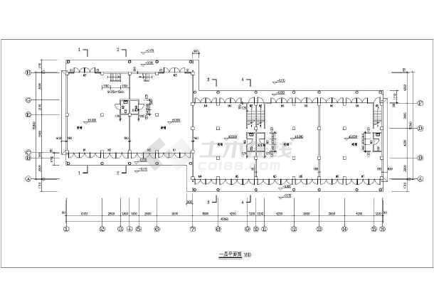 中式建筑仿古代民居建筑设计施工图