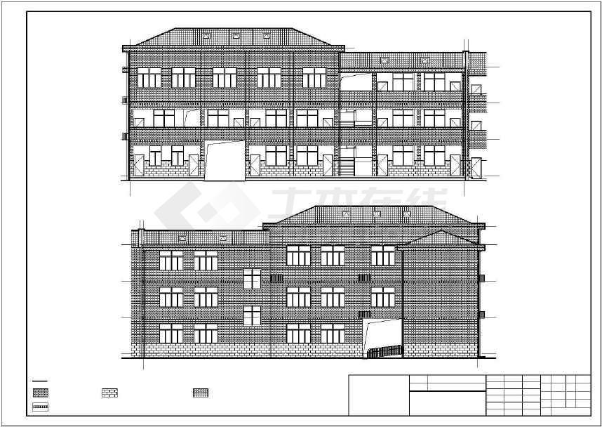 新港小学提质v图纸工程施工招标图纸、工程及清图纸玻璃墙为文件图片