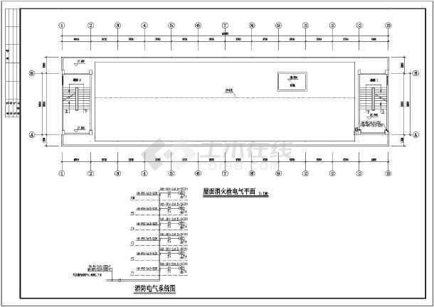 内容包括:防雷设计说明,配电箱接线图, 电气平面图,消火栓电气图片