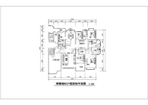 欧式超豪华住宅室内设计施工图(内含效果图)