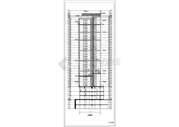 29层框支剪力墙结构商住楼结构施工图(含建筑图)