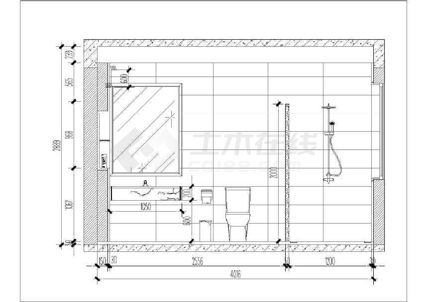【广州】欧式风格复式两层住宅室内装修施工图(附效果图)