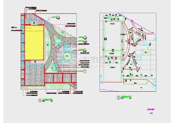 某社區活動廣場景觀規劃設計施工圖
