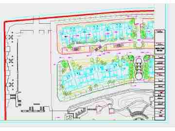 居住区绿化设计(手绘图)