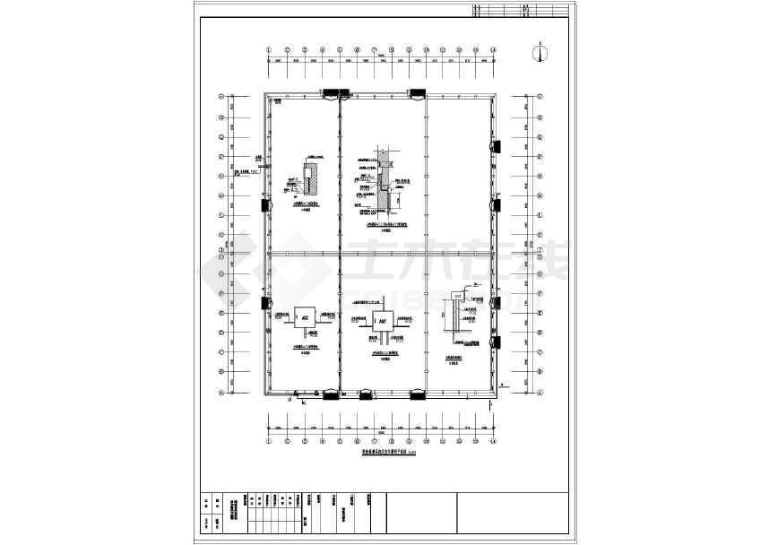 某地粮食平房库仓电气设计施工图纸