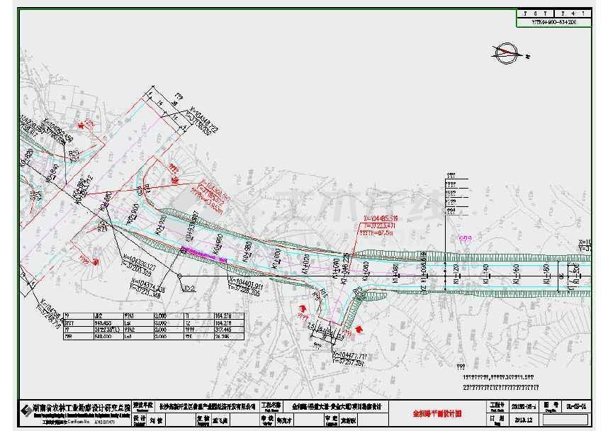 金相路、景阳路、金湖路图纸亮化工程施工招标v图纸1019道路图片