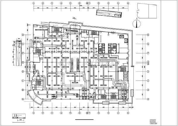 【河北】某24层公建商务楼暖通空调全套系统设计施工图