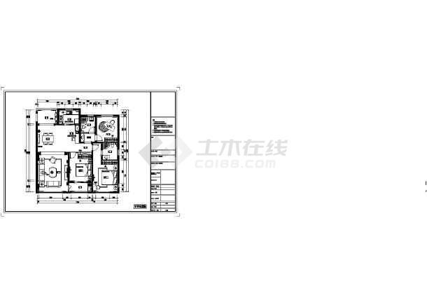【杭州】140平米欧式风格三室两厅室内装修图(含效果)