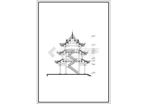 古代寺庙建筑古建筑设计规划方案图