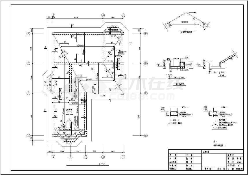 30米农村自建房建筑结构图(含电气)