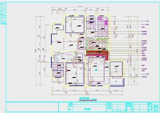 中西合璧混搭风格家居装修施工图(含效果图)