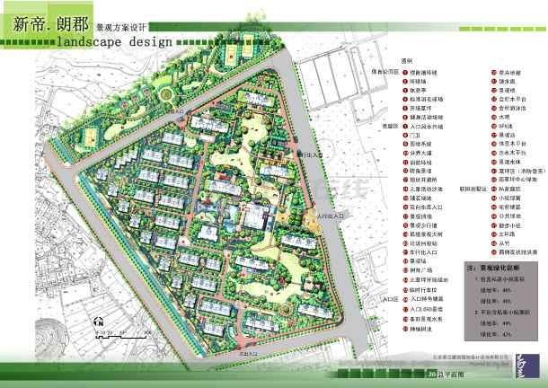 质保图纸 园林景观设计图 居住区景观设计图 方案设计 【杭州】新帝.