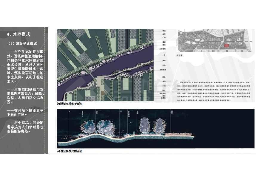 北洋园景观设计方案 ppt格式