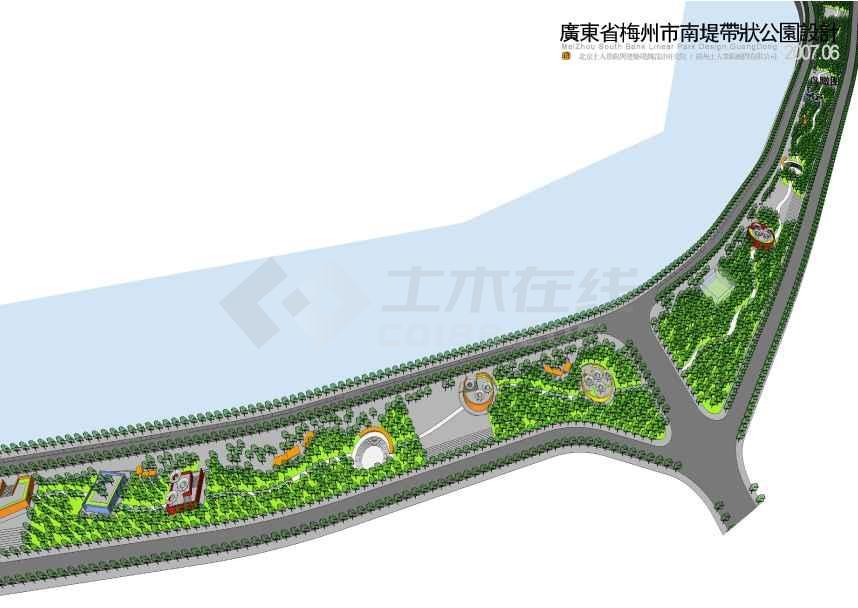 带状公园景观设计方案