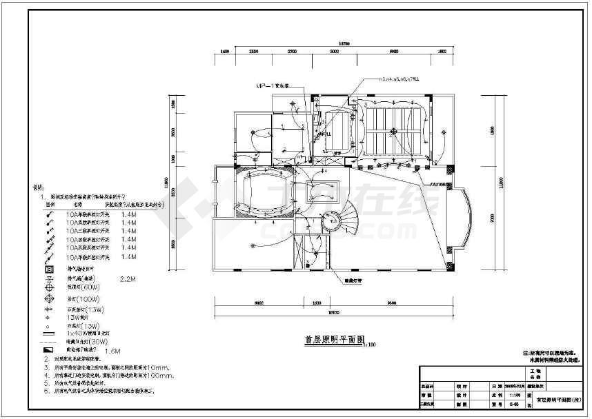 【广州】高端住宅区欧式风格三层别墅装修图