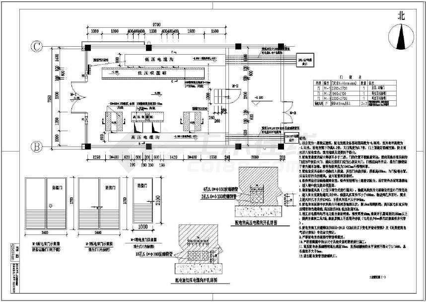 变配电图纸完整坡度设计施工图纸(2015年设计工程驾照设计电气路面考场图片