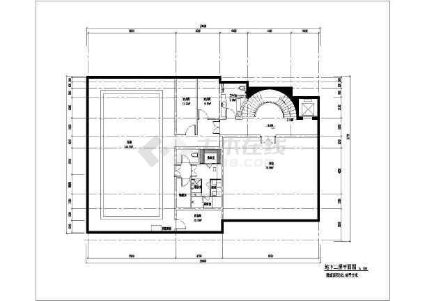 【江苏】三层新古典法式高端独栋别墅设计施工图