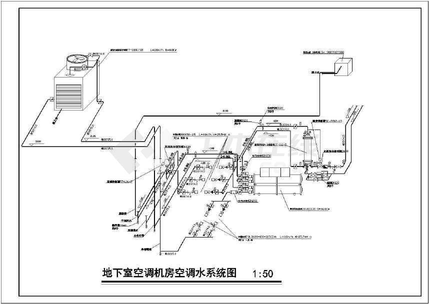 某地三星宾馆空调通风系统设计施工图图片