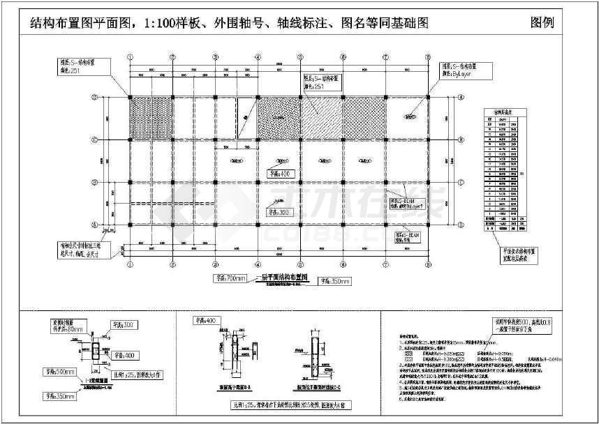 设计师结构制图模板标准(比较全面)