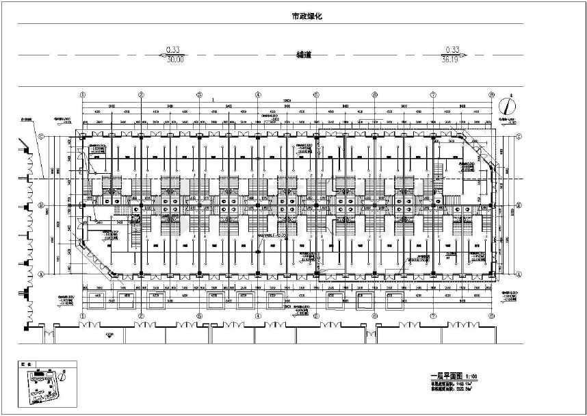 建筑)【江西】超高层商业住宅楼给排水及消防系统施工图(自动喷淋)v商业游戏大学图片