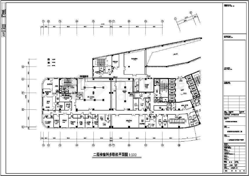 中国医科大学某附属医院检验科通风设计图图片