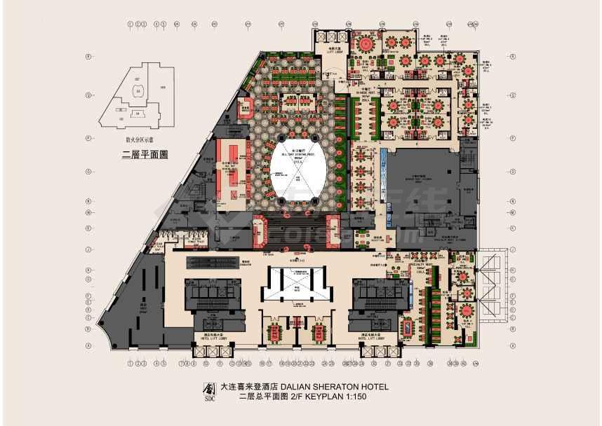 【大连】喜来登酒店深化设计方案jpg